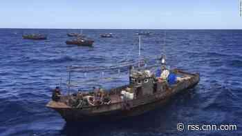 North Korea's 'dark' fishing fleet goes quiet