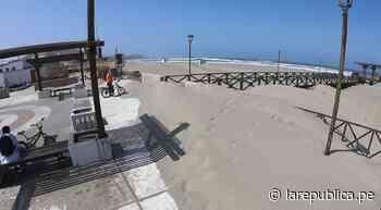 Chiclayo: falta de recursos impide erradicar arena de malecón de Puerto Eten LRND - LaRepública.pe