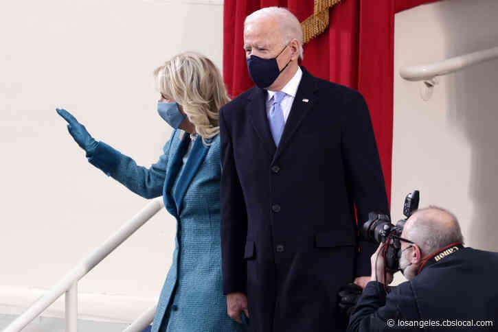 Angelenos Have Mixed Reaction To Biden's Coronavirus '100 Days Masking Challenge'