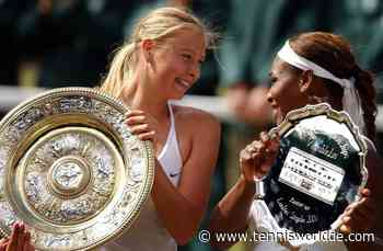 Maria Sharapova: 'Serena Williams gehört zu den größten Sportlerinnen aller Zeiten' - Tennis World DE