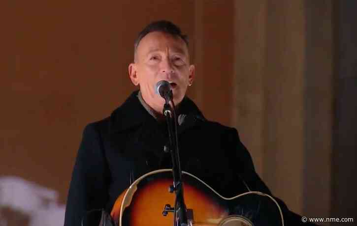 Watch Bruce Springsteen perform 'Land Of Hope and Dreams' during Joe Biden inauguration TV special