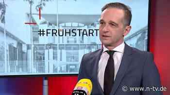 """Maas im """"ntv Frühstart"""": Nord Stream 2 trotz US-Wahl Streitthema"""