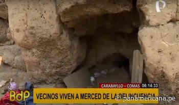 Carabayllo-Comas: Huaca Tungasuca es convertida en refugio de delincuentes   Panamericana TV - Panamericana Televisión