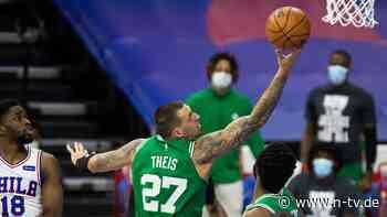 Die NBA-Superstars verlieren: Bärenstarker Theis glänzt im Corona-Sumpf
