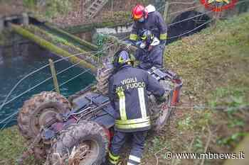 Tragedia a Cornate d'Adda: giardiniere di Biassono muore schiacciato da un trattore - MBnews