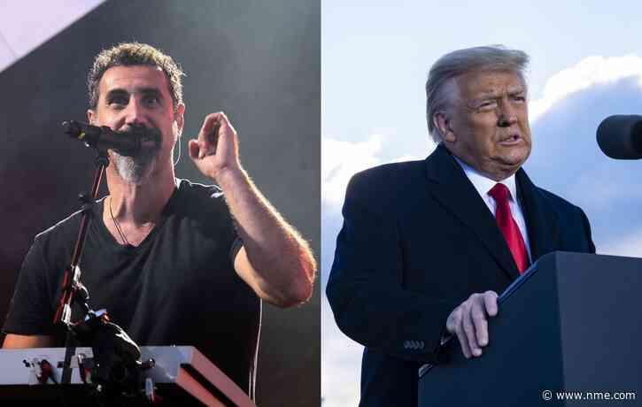 "Serj Tankian says he's ""never seen a president suck so much"" as Donald Trump"