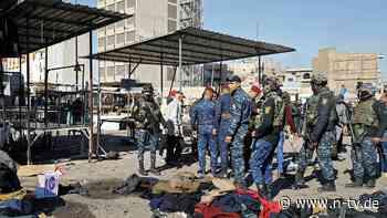 Mindestens 20 Menschen sterben: Bagdad von zwei Anschlägen erschüttert