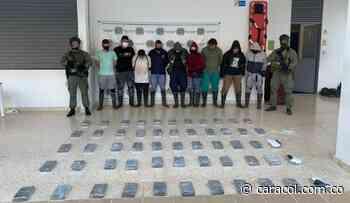 La policía destruyó un laboratorio que producía 2 toneladas de cocaína - Caracol Radio