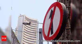 Sensex falls 167 points to close at 49,625; Nifty ends below 14,600