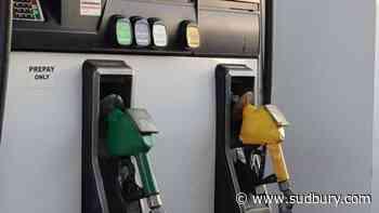 Sudbury gas prices still mostly at 121.9