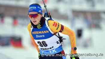 Biathlon jetzt im Liveticker: Preuß beginnt mit einer Strafminute