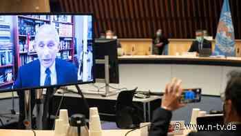 """Virologe """"mit Stolz"""" erfüllt: Fauci darf USA in WHO-Impfinitiative führen"""