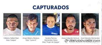 Plan Control Territorial captura a cinco extorsionistas en Nahuizalco, Sonsonate - Diario La Huella