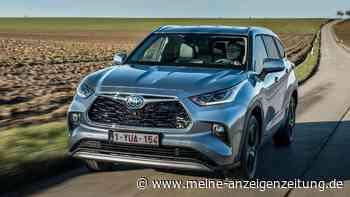 Neuer Toyota Highlander Hybrid: Beeindruckend geringer Normverbrauch – nur eine Sache stört