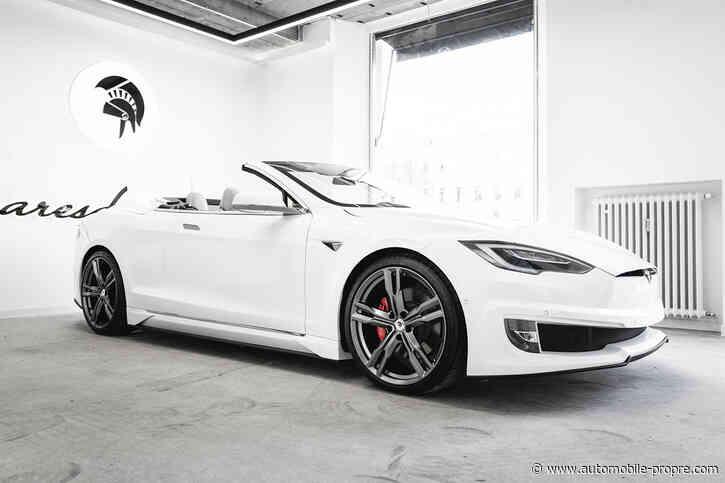 Ares Design décapsule la Tesla Model S - Automobile Propre