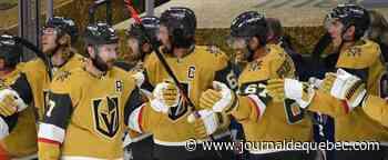 Les Golden Knights, l'équipe de l'heure dans la LNH