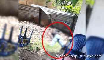 Atención: Comunidad denuncia caso de homicidio hace pocos minutos en Orito, Putumayo - Conexión Putumayo