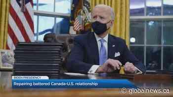 Repairing battered Canada-U.S. relationship under Biden administration