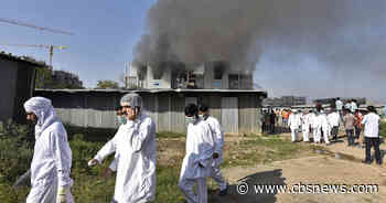 Deadly fire at huge Indian plant cranking out Oxford COVID vaccine
