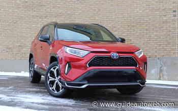 Toyota RAV4 Prime 2021: à l'épreuve de l'hiver