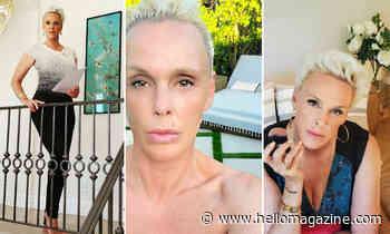 Brigitte Nielsen helped renovate her pristine LA home - see inside
