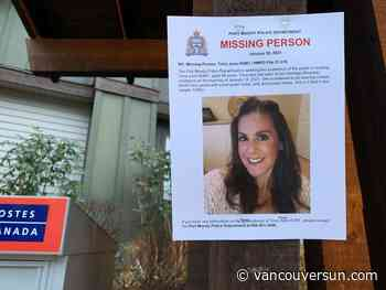 Search continues for missing Port Moody woman