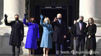 Dow, S&P, Nasdaq close at records as Biden sworn in as 46th U.S. President