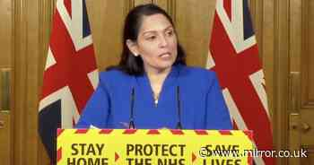 Watch live as Priti Patel holds press conference after border closure delay leak
