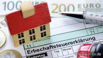 Geerbte Immobilie: Wann wird die Erbschaftsteuer fällig?