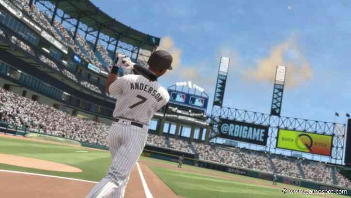 RBI Baseball 21's Cover Athlete Is Chicago White Sox Slugger Tim Anderson