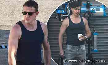 Normal People's Paul Mescal is joined by hunky body double on Australian set of new film Carmen