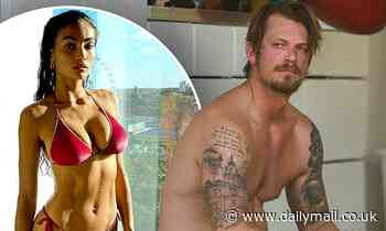 Joel Kinnaman relaxes after jiu-jitsu practice following news of his engagement to model Kelly Gale