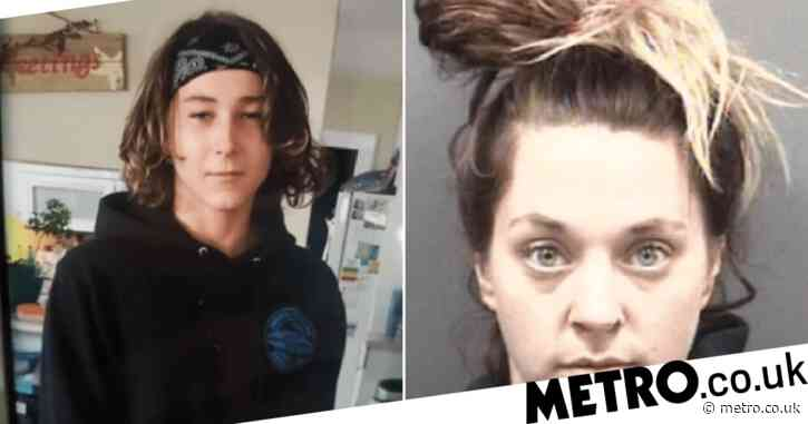 Missing boy, 15, found with female fugitive, 29, two months after he vanished