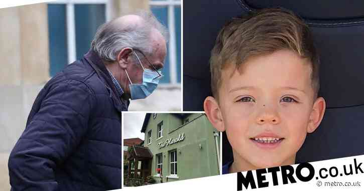 Boy, 7, electrocuted in front of parents by 'defective' lighting in pub garden