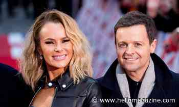 Amanda Holden reacts to Ant and Dec's exciting news