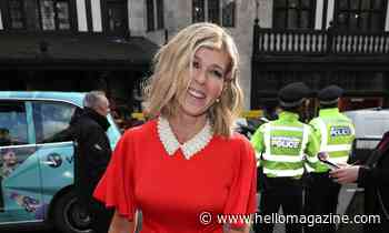 Kate Garraway's flirty red dress has fans swooning