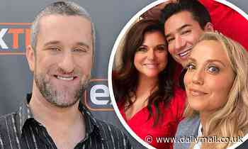 Elizabeth Berkley, Lark Voorhies, and Tiffani Thiessen share support for ex co-star Dustin Diamond