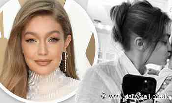 Gigi Hadid celebrates her daughter turning four months old in sweet black and white snap