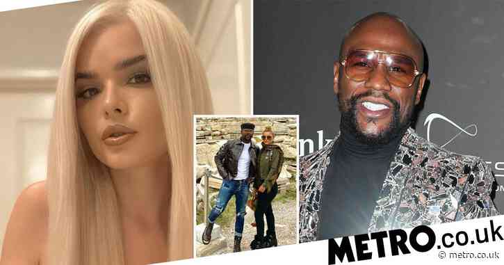 Floyd Mayweather 'engaged to stripper girlfriend Anna Monroe' after just months of dating