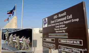 US soldier found unresponsive at Camp Arifjan in Kuwait just nine days after another died