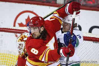 Gaudreau has 2 points as Flames torch Vancouver Canucks 5-2 - North Delta Reporter