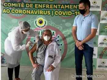Abreu e Lima inicia vacinação contra a Covid-19 - LeiaJá