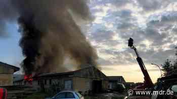 Brandstiftung in Klipphausen offenbar aufgeklärt - MDR