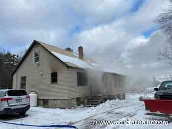 Fire heavily damages house in Chesterville - CentralMaine.com - Kennebec Journal and Morning Sentinel