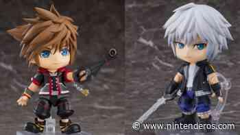 GoodSmile anuncia estas figuras Nendoroids de Sora y Riku de Kingdom Hearts - Nintenderos.com
