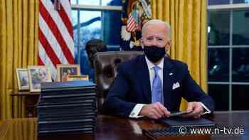 Atomare Abrüstung und FBI: Was Biden am ersten Tag im Amt beschäftigt