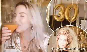 Lydia Bright's family throw her a surprise Sex And The City-themed lockdown party as she turns 30