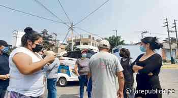 Vecinos de El Rosal piden mayor seguridad ante ola de robos - LaRepública.pe