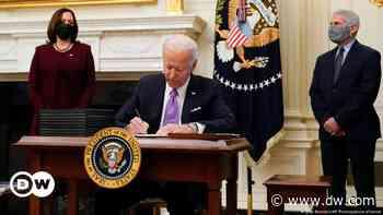 Coronavirus: Joe Biden signs order requiring all US arrivals to quarantine - DW (English)