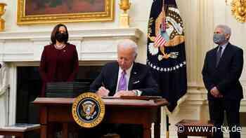 Neue Corona-Strategie vorgelegt: Biden will Quarantäne für Einreisende